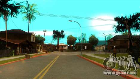ENB Settings Janeair 1.0 Light para GTA San Andreas quinta pantalla