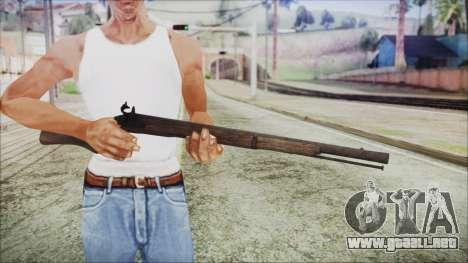 GTA 5 Musket v3 - Misterix 4 Weapons para GTA San Andreas tercera pantalla