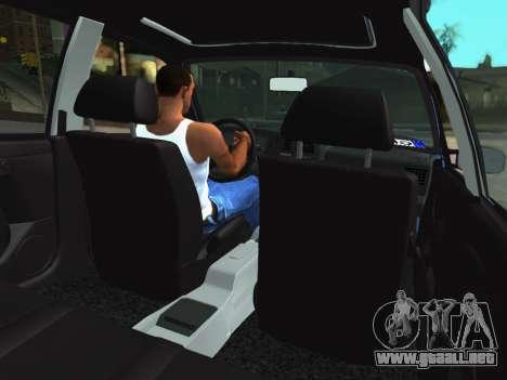 Volkswagen Passat B3 Variant para GTA San Andreas vista hacia atrás