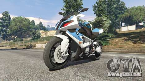 GTA 5 BMW HP4 vista lateral derecha