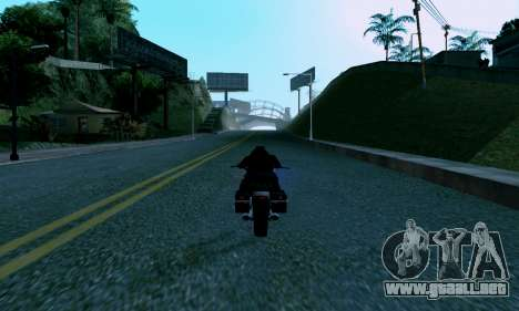 uM ENB para PC débil para GTA San Andreas quinta pantalla