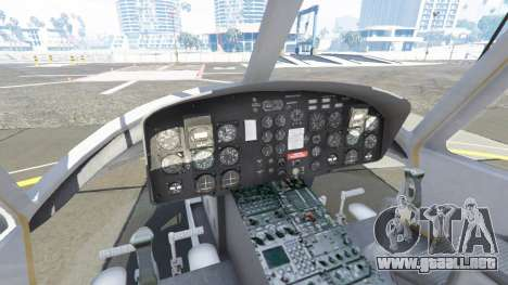 GTA 5 Bell UH-1D Huey Bundeswehr quinta captura de pantalla