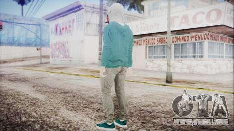 GTA Online Skin 21 para GTA San Andreas tercera pantalla