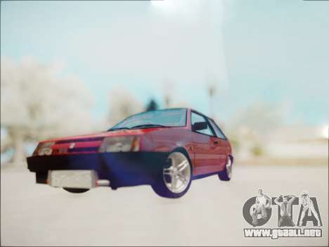 VAZ 2108 Turbo para GTA San Andreas left