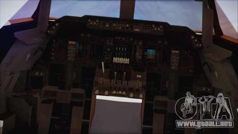 Boeing 747-237Bs Air India Emperor Ashoka para la visión correcta GTA San Andreas