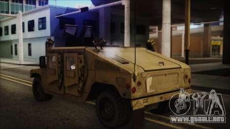 HMMWV Patriot para GTA San Andreas left