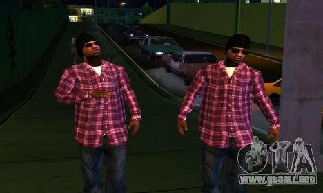 Mens Mega Pack para GTA San Andreas octavo de pantalla