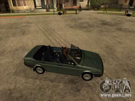 VAZ 21099 Convertible para GTA San Andreas left