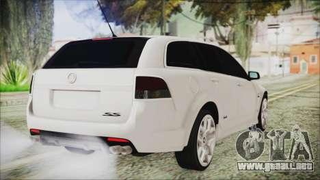 Holden Commodore VE Sportwagon 2012 para GTA San Andreas left