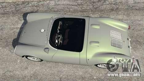 GTA 5 Porsche 550A Spyder 1956 vista trasera