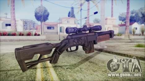 Fallout 4 Overseers Guardian para GTA San Andreas segunda pantalla