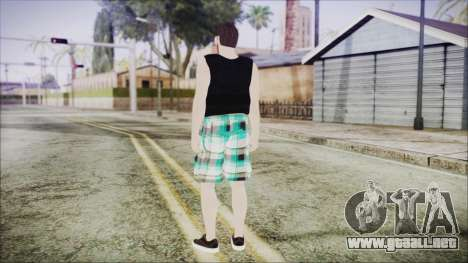 GTA Online Skin 39 para GTA San Andreas tercera pantalla
