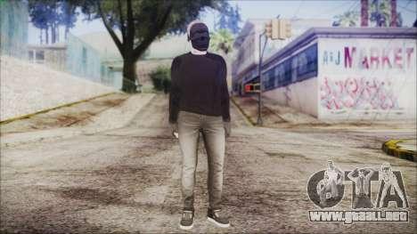 GTA Online Skin 53 para GTA San Andreas segunda pantalla