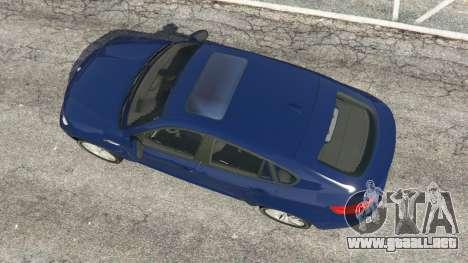 GTA 5 BMW X6 M (E71) v1.5 vista trasera