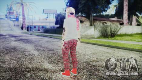 GTA Online Skin 54 para GTA San Andreas tercera pantalla