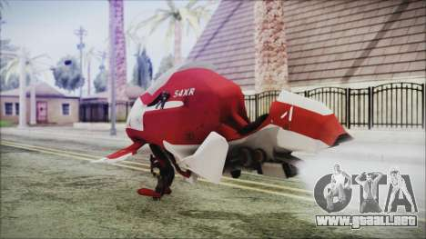 Syndicate Flying Motorcycle para GTA San Andreas left