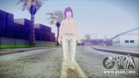 Rambo City Shirtless para GTA San Andreas segunda pantalla