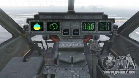 GTA 5 Bell UH-1Y Venom v1.1 quinta captura de pantalla