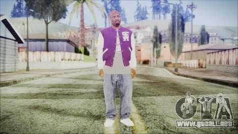 GTA 5 Ballas 3 para GTA San Andreas segunda pantalla