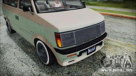 GTA 5 Declasse Moonbeam Custom IVF para la visión correcta GTA San Andreas