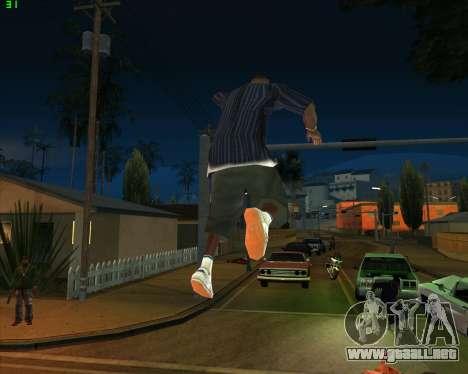 La locura en el estado de San Andreas v1.0 para GTA San Andreas novena de pantalla