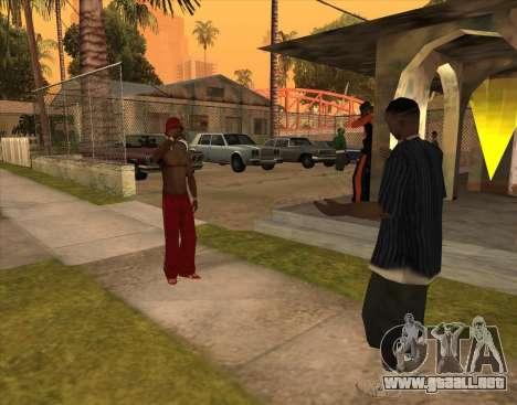 Bratki en el bar para GTA San Andreas