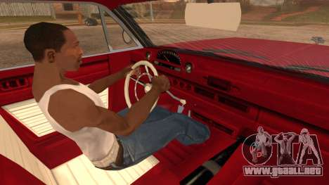 GTA 5 Declasse Clean Voodoo Bobble Version para GTA San Andreas vista posterior izquierda