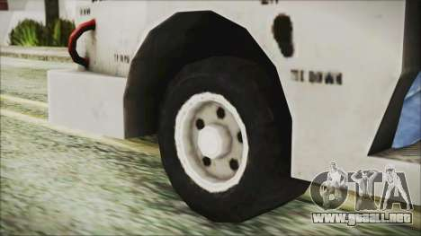 BF3 Push Car para GTA San Andreas vista posterior izquierda