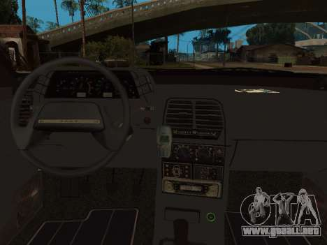 VAZ 2110 DPS para vista inferior GTA San Andreas