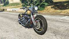 Harley-Davidson Knucklehead Bobber para GTA 5