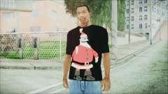 Santa T-Shirt para GTA San Andreas