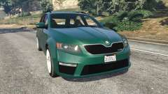 Skoda Octavia VRS 2014 [estate] para GTA 5