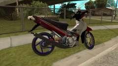 Yamaha 125z para GTA San Andreas