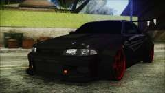 Nissan Skyline R33 Widebody v2.0 para GTA San Andreas