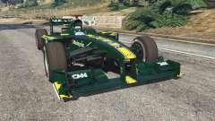 Lotus T127 para GTA 5