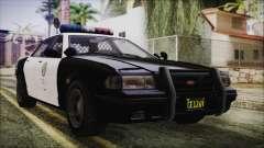 GTA 5 Vapid Stranier II Police Cruiser para GTA San Andreas