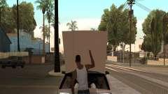 Abra el capó o el maletero manos para GTA San Andreas