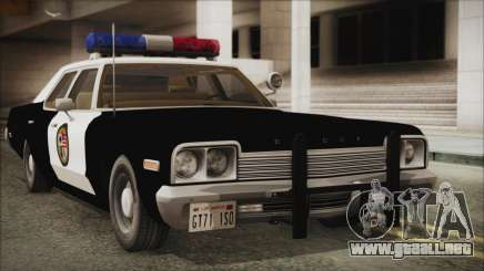 Dodge Monaco 1974 LSPD para GTA San Andreas