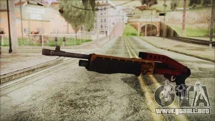 Xmas SPAS-12 para GTA San Andreas