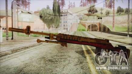 Xmas M14 para GTA San Andreas