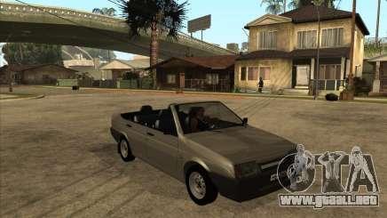 VAZ 21099 Convertible para GTA San Andreas