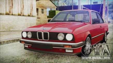 BMW 320i E21 1985 SA Plate para GTA San Andreas