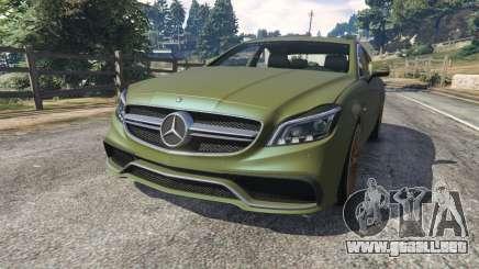 Mercedes-Benz CLS 63 AMG 2015 para GTA 5