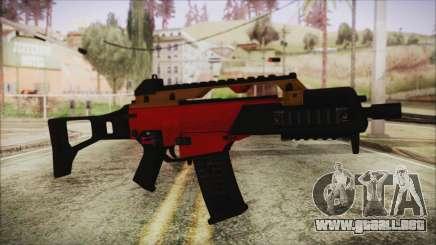 Xmas G36C para GTA San Andreas