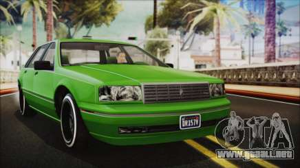 GTA 5 Albany Primo Custom No Interior IVF para GTA San Andreas