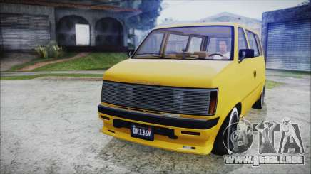GTA 5 Declasse Moonbeam Bobble Version para GTA San Andreas