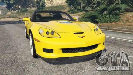 Chevrolet Corvette ZR1 para GTA 5