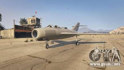El MiG-15 para GTA 5