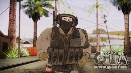 XOF Soldier (Metal Gear Solid V Ground Zeroes) para GTA San Andreas