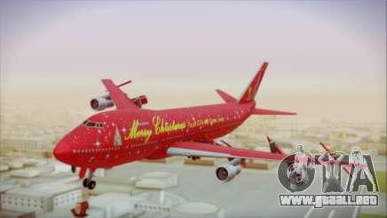 Boeing 747-100 Merry Christmas para GTA San Andreas